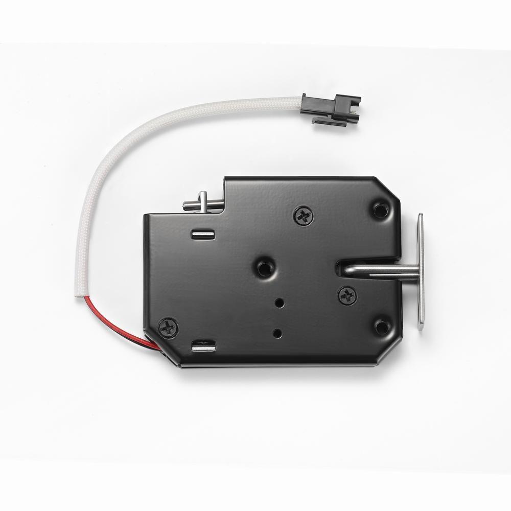 查看主要配件是否齐全,在安装前先模拟电控锁    工作方式按电路接线