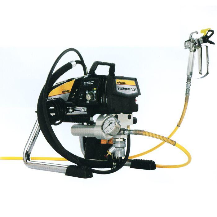 电动柱塞泵无气喷涂机