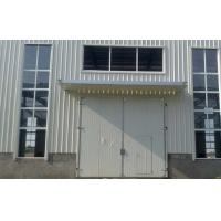 工业电动平开钢大门,彩钢板大门