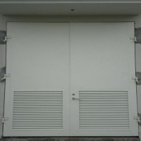 黄山钢制变压器室门,配电房门,电站大门