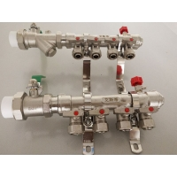 东营地暖分集水器 精品国标分水器