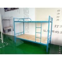 赣州学生床永固B001蓝色镀锌方管床