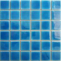 佛山卡希曼冰裂纹陶瓷马赛克泳池砖