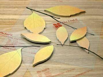 折树叶的步骤图解