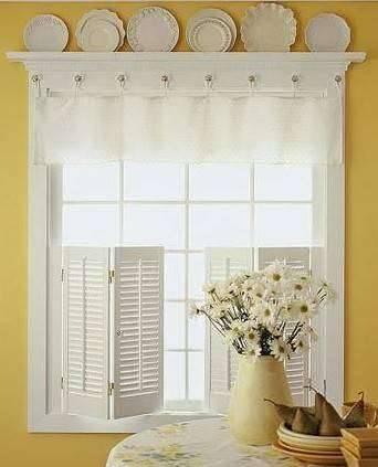 好看实用的自制小窗帘的装饰方法集二
