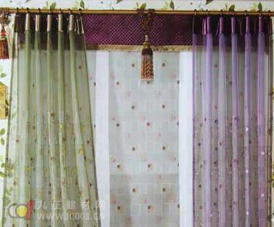 2013客厅飘窗窗帘图片大全