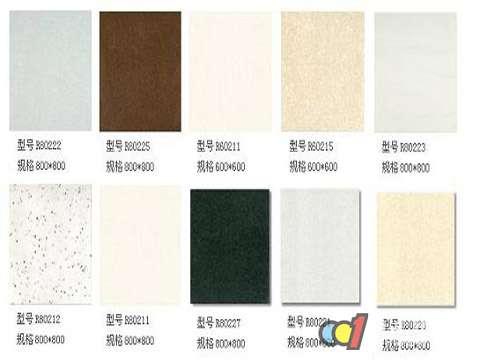 地砖规格_瓷砖规格尺寸大小不同 不同颜色讲究混搭