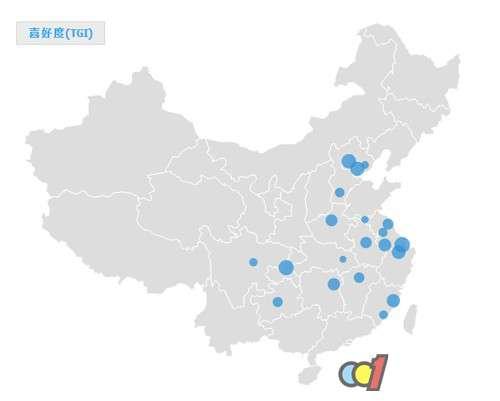 浴霸区域市场分布概况 长江沿岸消费者多怕冷