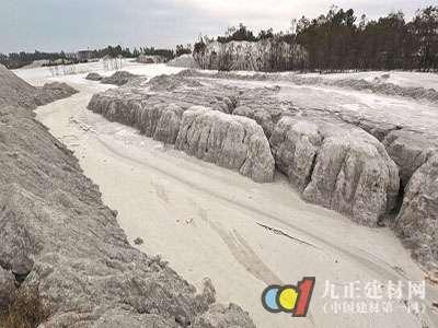 晋江永和镇里将召开协调会,研究措施治理石粉废渣乱倒