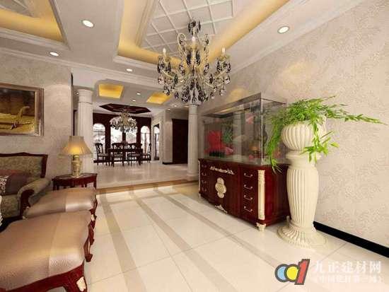 石膏板吊顶常用于客厅