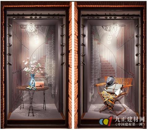 奢侈家居品牌引领橱窗展示新风尚