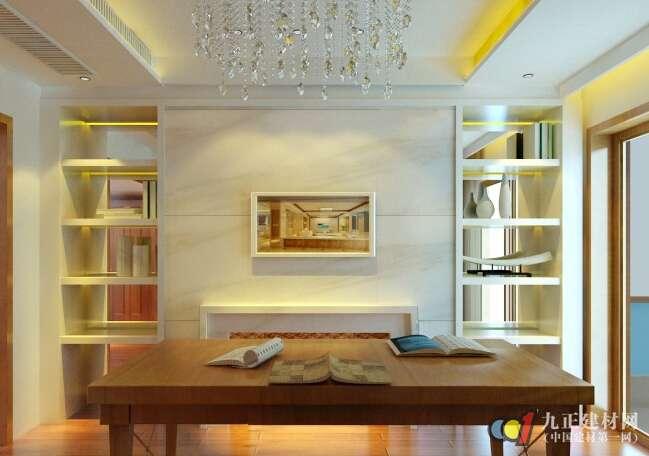书房颜色搭配效果图