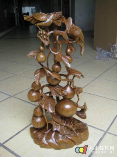 木雕工艺品效果图