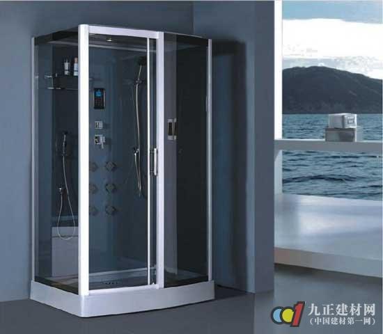 其后再安装其他用品,否则可能会出现安装浴房空间不