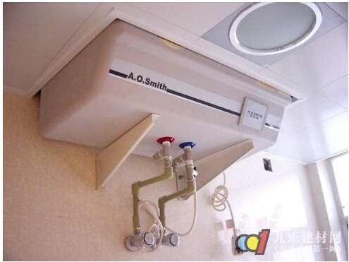 热水器安装图