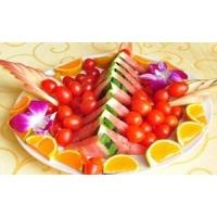果盘 怎么做 果盘 西瓜的切法 果盘 的摆法 果盘