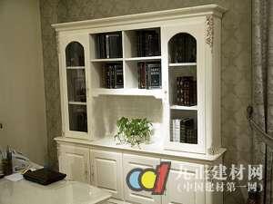 简欧书柜_书桌_中国百科网图片