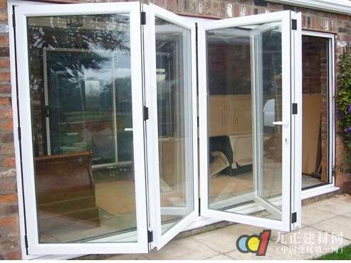 玻璃折叠门图片