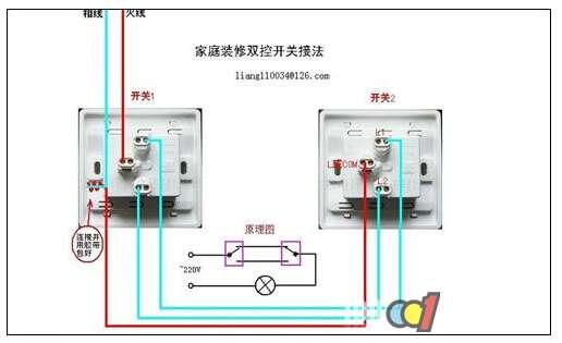 双控开关价格 双控开关安装 双控开关接线图 电器百科 九正建材网 中国