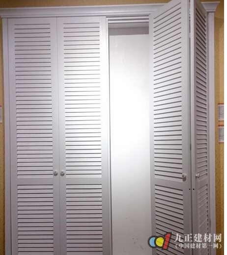 百叶折叠门图片
