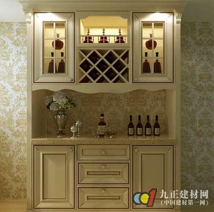 欧式酒柜价格 欧式酒柜特点 欧式酒柜装修 家具百科 九正建材网 中国建图片
