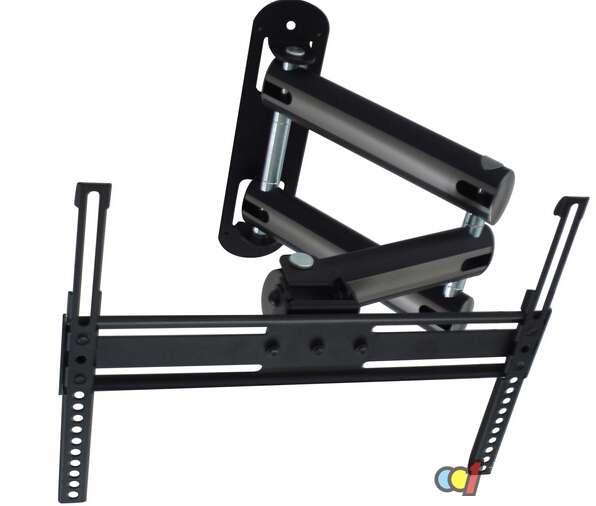 电视支架安装 电视支架安装一般不需要安装图的,底座和支架都是单独