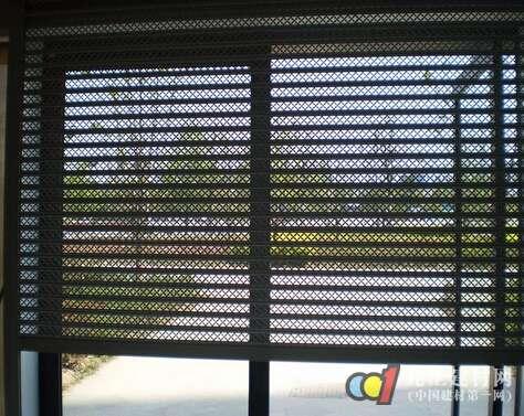电动防盗窗图片