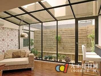 铝合金玻璃门图片