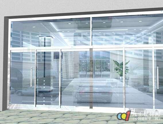 玻璃自动门图片