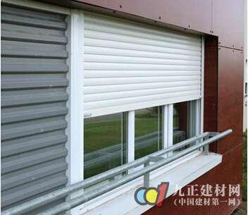 外遮阳卷帘窗图片