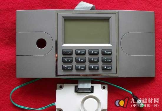 1,数字密码输入电路 2,密码锁控制电路 3,密码锁显示电路