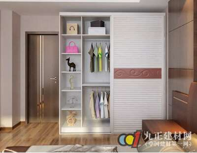 衣柜内格子设计