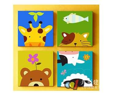 【动物装饰画】 - 动物装饰画好看吗