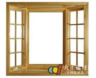 实木门窗图片