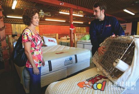 床垫/消费者无法通过床垫材质了解其功用...