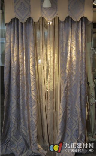 欧洲窗帘布艺,提花+剪花的完美工艺