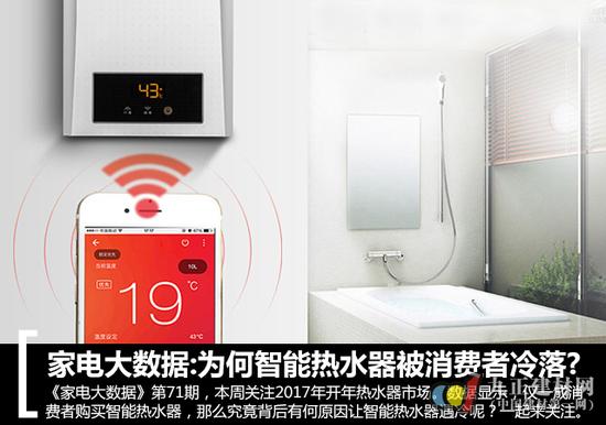 大数据:为何智能热水器被消费者冷落?