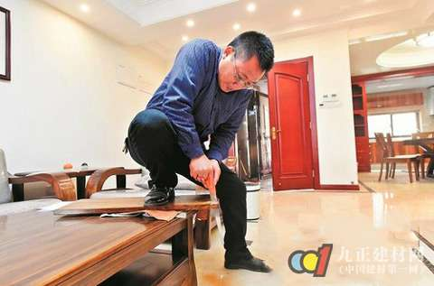 怀疑14.5万买的样品以次充好买家锯下家具检陈国寿红木家具图片
