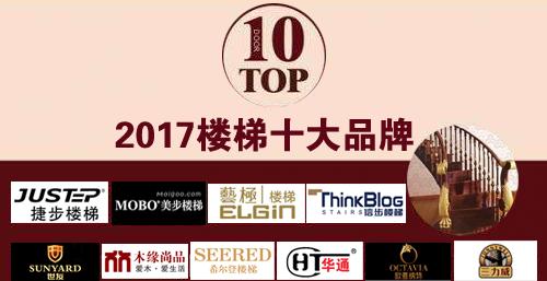 2017最受关注的楼梯十大品牌