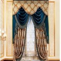 欧式风格大气窗帘效果图