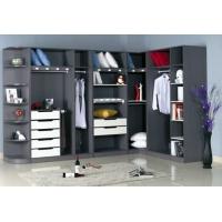 卧室开放式衣柜装修效果图