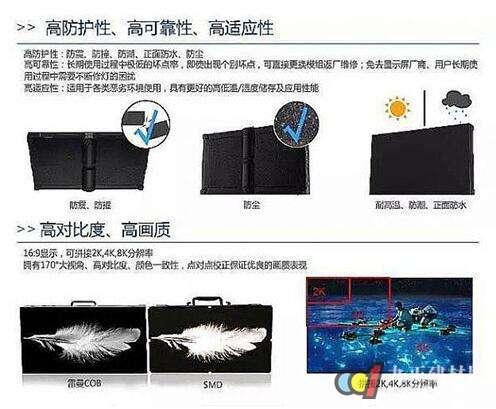 """COB技术带来小间距LED屏""""新一轮""""竞争"""
