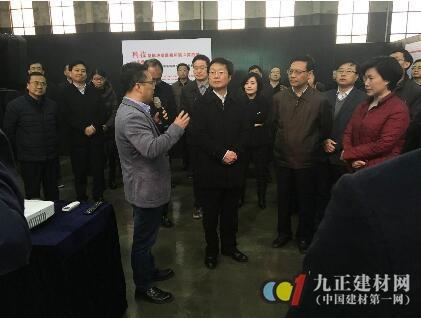 创新能力受肯定 芜湖市委书记潘朝晖一行莅临安美利特调研