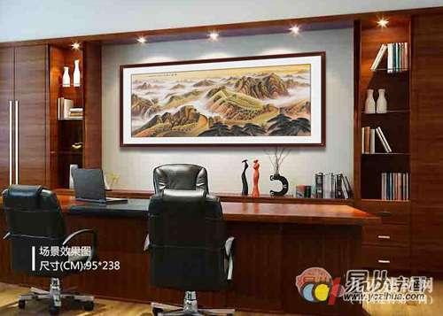 老板办公室装饰画之名家山水画篇,老板最喜爱的装饰画之选!