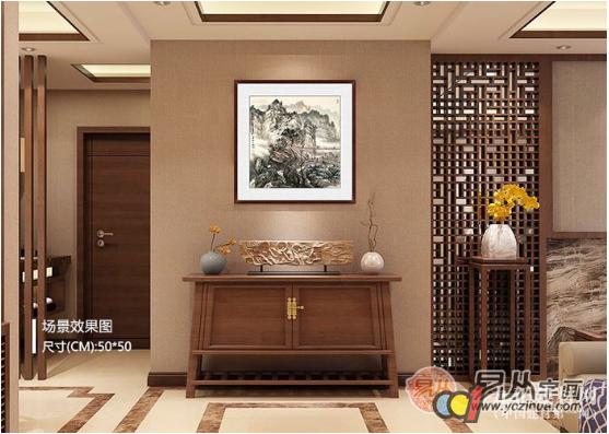 2018年客厅装饰画解析,你的客厅装饰画挂多大尺寸的合适