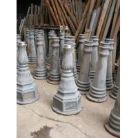 铸铝铸铁庭院灯底座灯杆标识工程灯杆底盘广告牌路牌灯杆