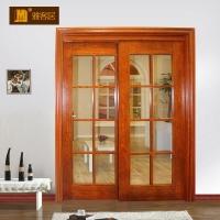 湖北实木门玻璃门工程门推拉门厨房门室内门定制做卫生间隔断门