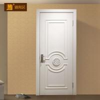 武汉雅客居定制木门白色简约木门室内房间卧室套装实木门定制
