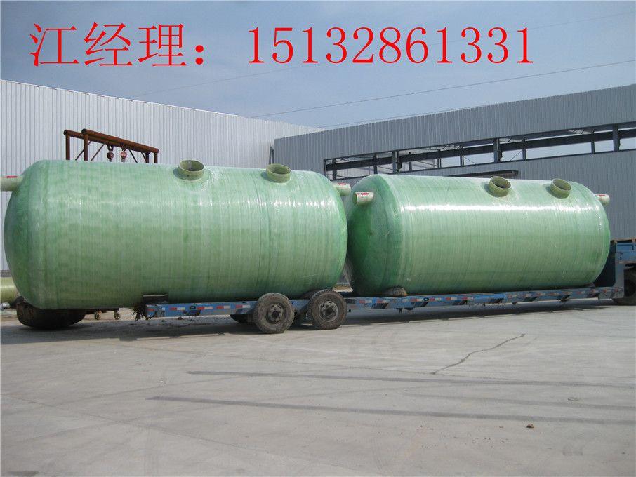 优质成品缠绕玻璃钢化粪池 玻璃钢隔油池 加强型 1 100立