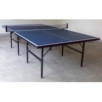 单折移动式乒乓球台 学校乒乓球台 运动馆乒乓球台的供应